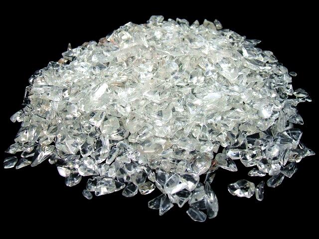 画像1: 水晶さざれチップ500g